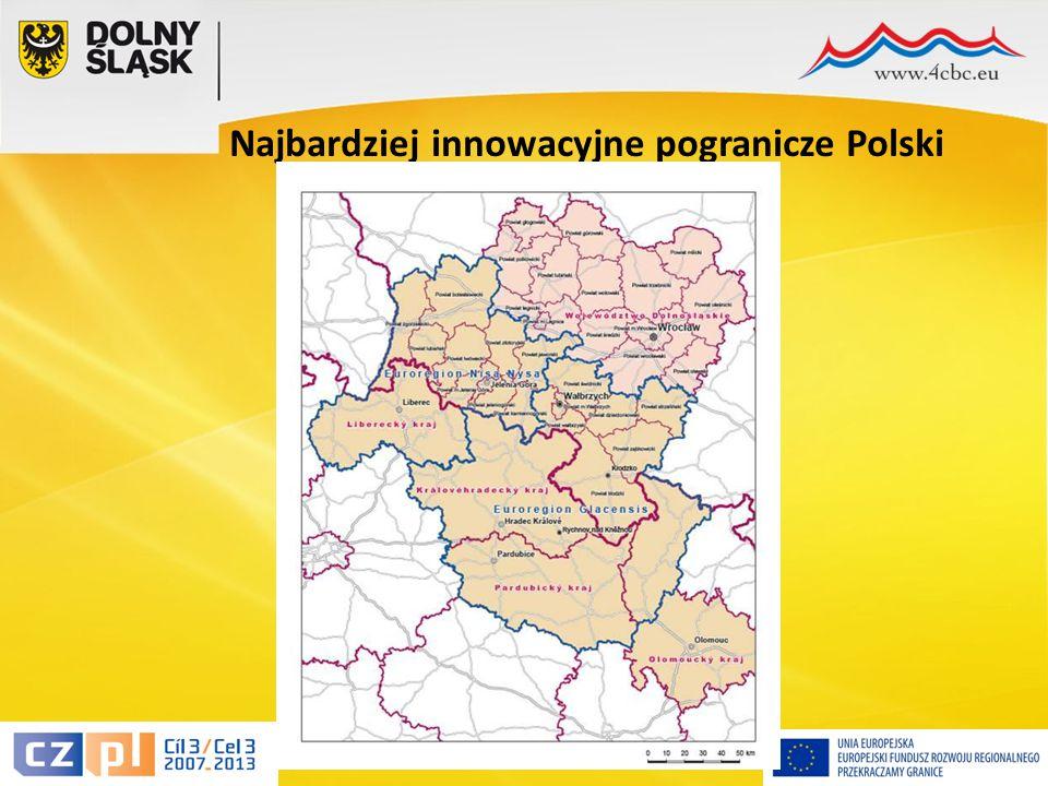 14 Najbardziej innowacyjne pogranicze Polski