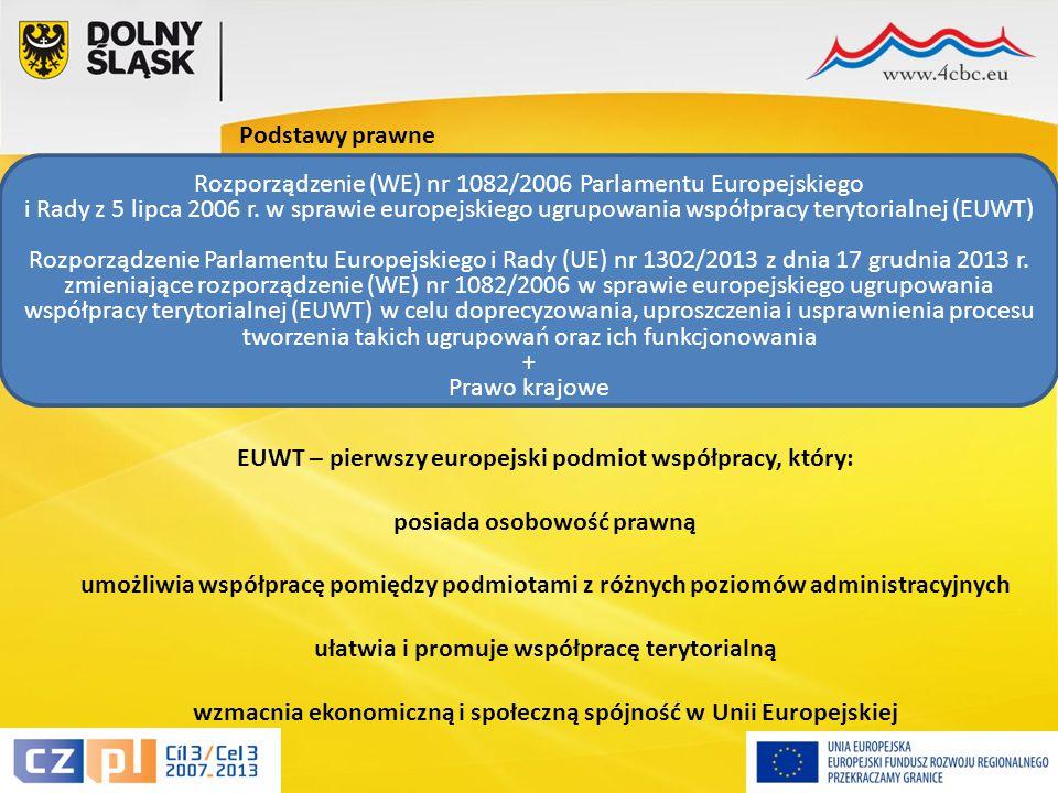 6 Podstawy prawne Rozporządzenie (WE) nr 1082/2006 Parlamentu Europejskiego i Rady z 5 lipca 2006 r.