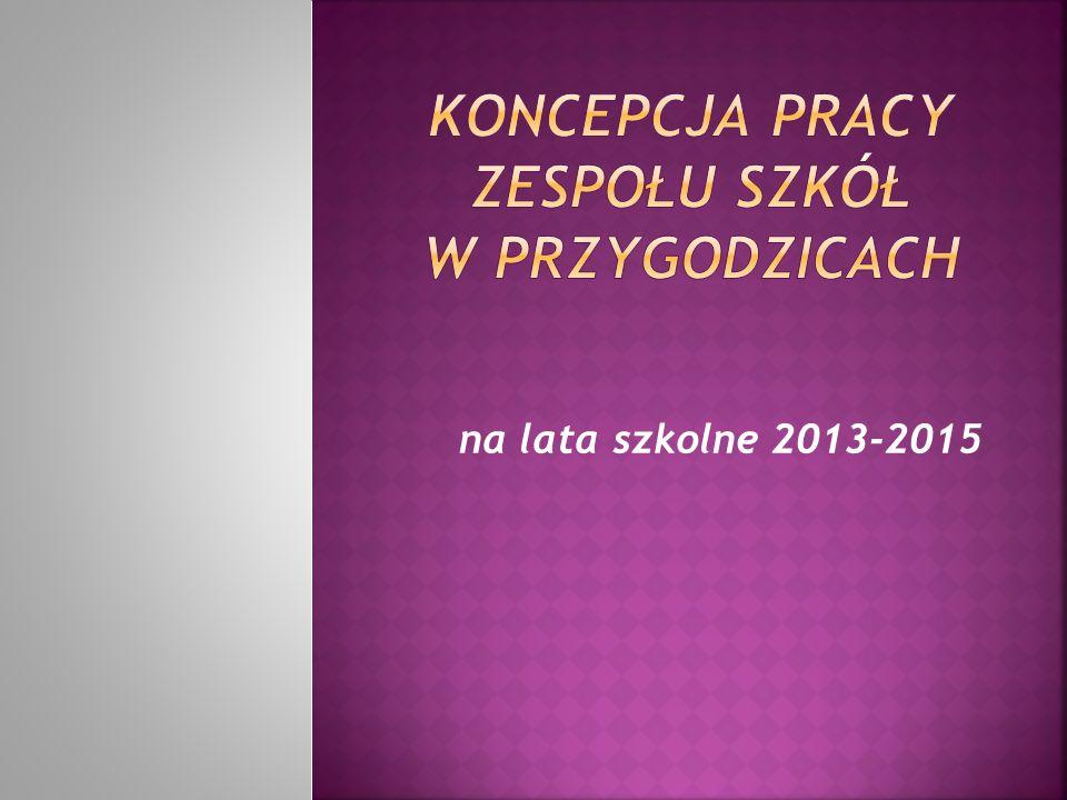 na lata szkolne 2013-2015