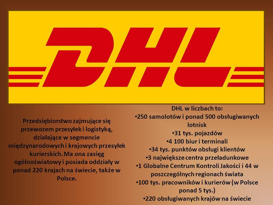 Przedsiębiorstwo zajmujące się przewozem przesyłek i logistyką, działające w segmencie międzynarodowych i krajowych przesyłek kurierskich. Ma ona zasi