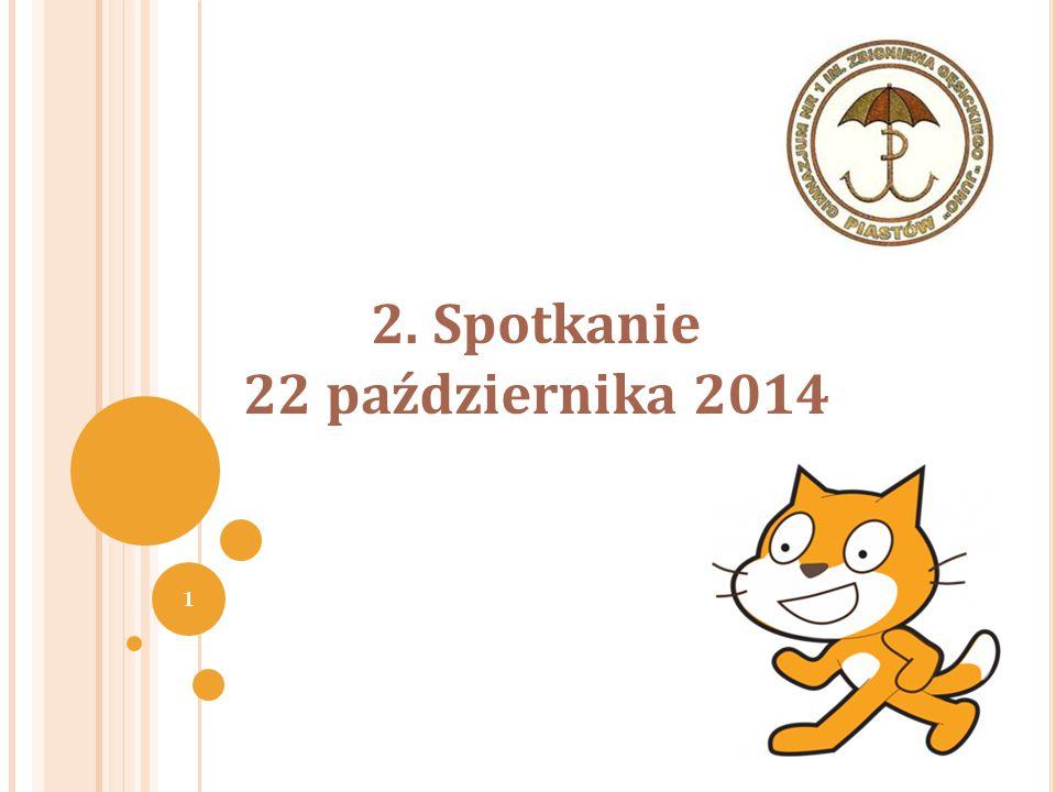 2. Spotkanie 22 października 2014 Joanna Brzozowska 1