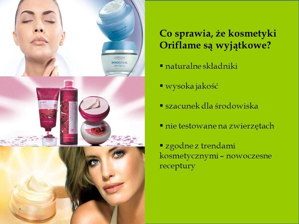 Co sprawia, że kosmetyki Oriflame są wyjątkowe.