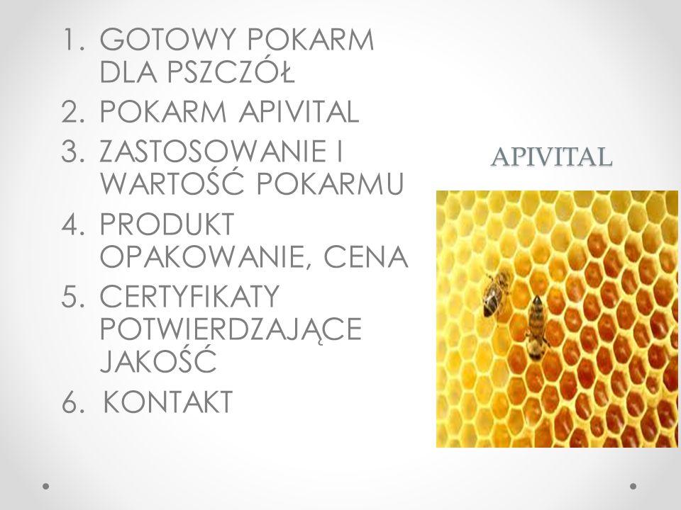 APIVITAL Najlepszy dla Twoich pszczół - wygodny dla Ciebie Pokarm dla pszczół wpływa na zdrowie i produktywność Twoich kolonii pszczół, a jego właściwy wybór ma ogromne znaczenie.