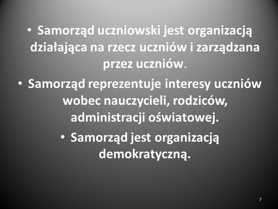 Jakie kompetencje powinien mieć przewodniczący Rady Samorządu Uczniowskiego? 28