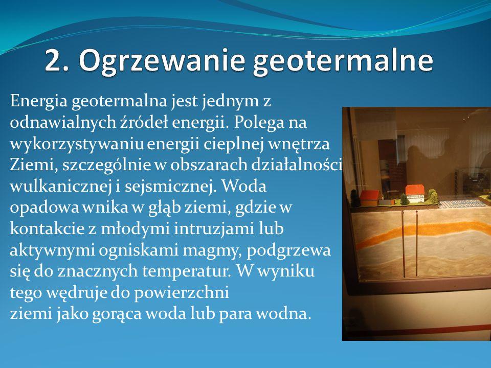 Niskotemperaturowe zasoby geotermalne używane są do zmniejszenia zapotrzebowania na energię poprzez wykorzystywanie w bezpośrednim ogrzewaniu domów, fabryk, szklarni.