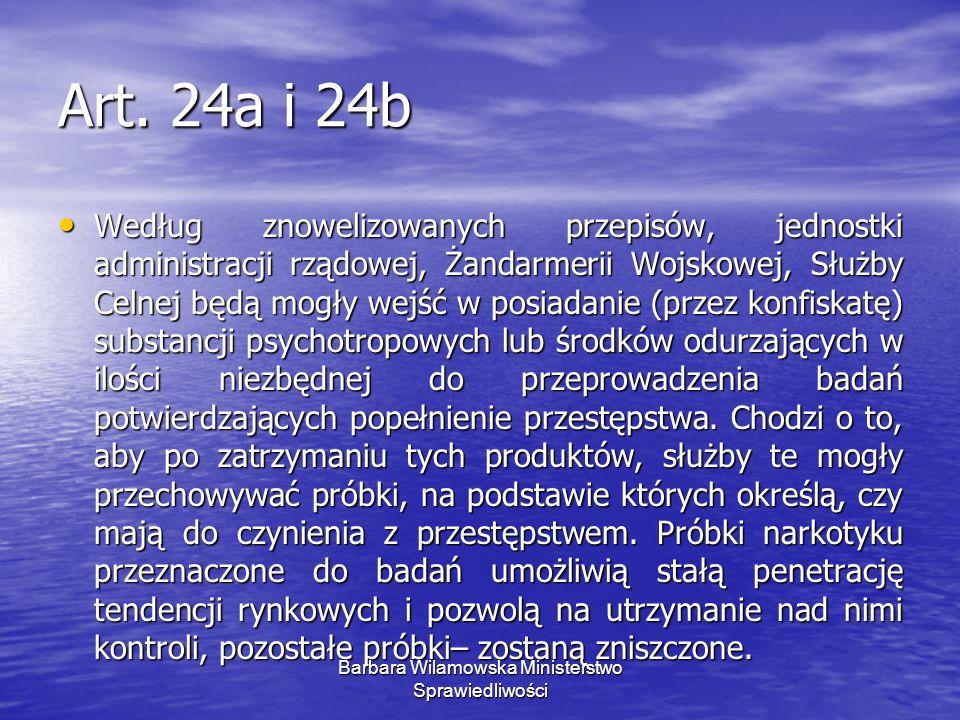 Ministerstwo Sprawiedliwości Barbara Wilamowska