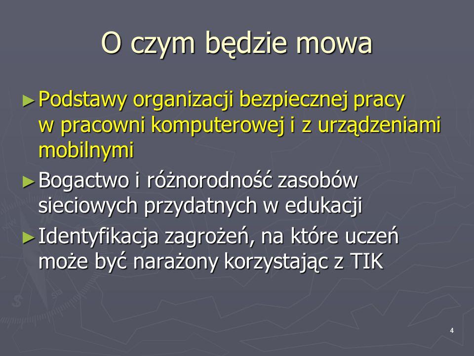 25 zagrożenia Przez warszawskie Centrum Leczenia Odwykowego w ciągu 4 lat (do 1998 r) przewinęło się ok.