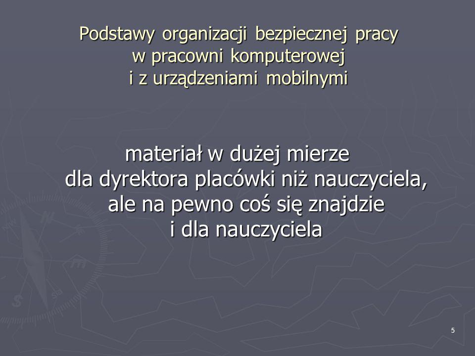 16 Bogactwo i różnorodność zasobów sieciowych przydatnych w edukacji Dotyczące TIK: http://apn.oeiizk.waw.pl -> Moduł 1 -> Serwisy edukacyjne...