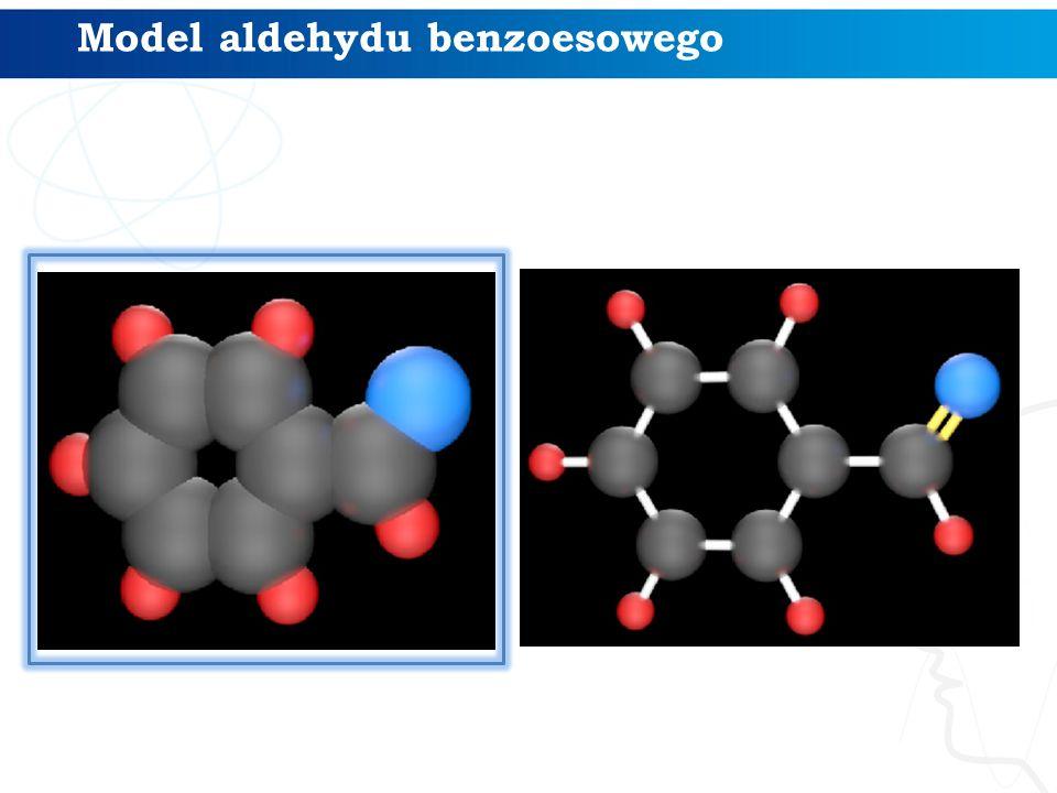 Model aldehydu benzoesowego