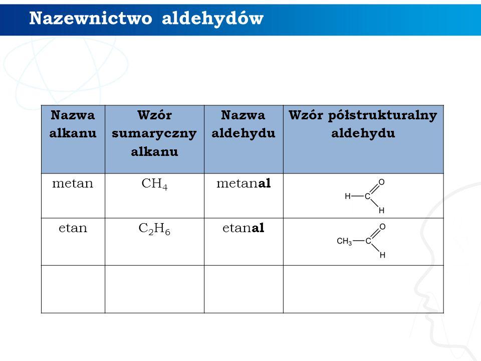 4/4 Polecenie Narysuj wzór półstrukturalny aldehydu 2-chloro-5-etylocyklopentanokarboaldehyd