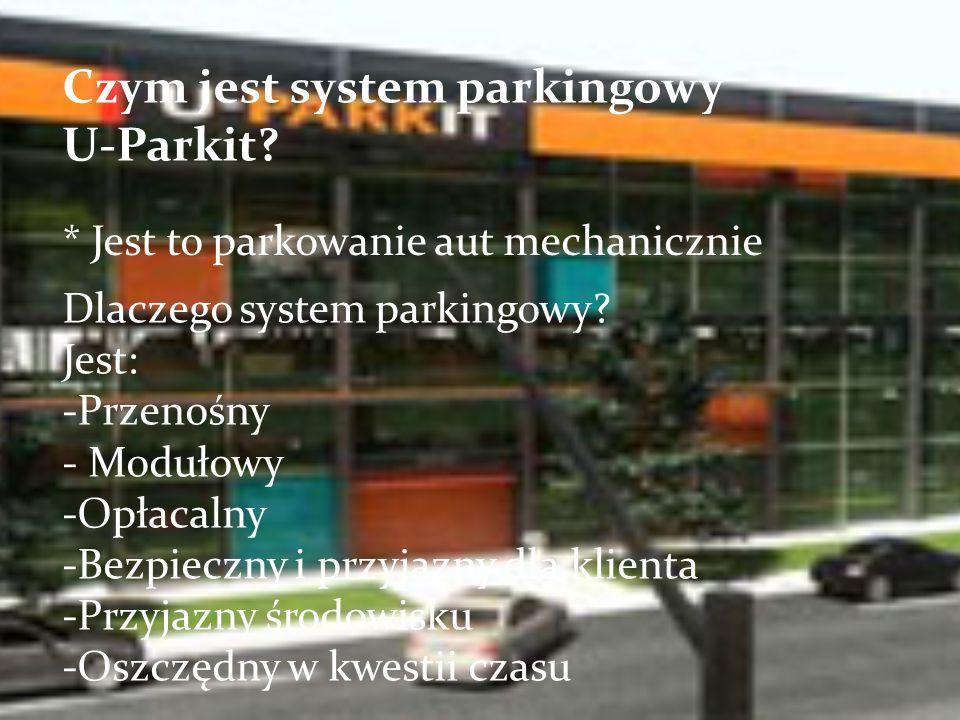 Czym jest system parkingowy U-Parkit.