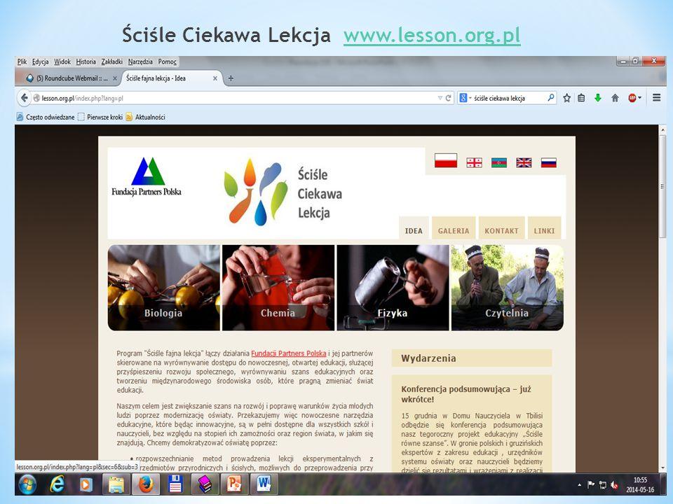 Ściśle Ciekawa Lekcja www.lesson.org.plwww.lesson.org.pl