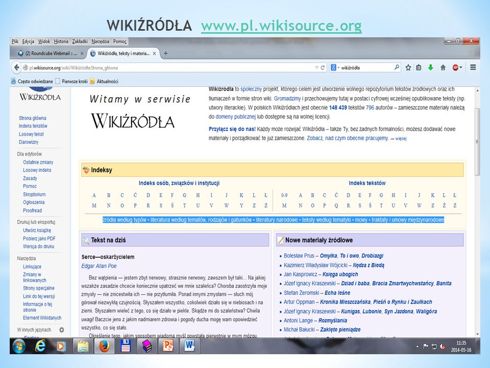 WIKIŹRÓDŁA www.pl.wikisource.orgwww.pl.wikisource.org