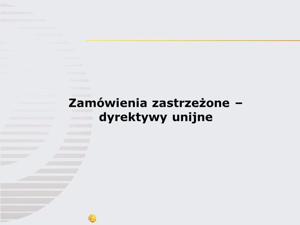Nowe regulacje unijne w zakresie społecznych warunków realizacji zamówienia Przykładowe elementy wskazane w preambule dyrektywy 2014/24/UE Warunki realizacji zamówienia mogą także mieć na celu sprzyjanie wdrożeniu środków służących promowaniu równouprawnienia płci w pracy, większemu uczestnictwu kobiet w rynku pracy oraz godzeniu życia zawodowego i prywatnego, (….) Warunki realizacji zamówienia związane z dostarczaniem lub wykorzystywaniem produktów sprawiedliwego handlu w trakcie wykonywania zamówienia, które ma zostać udzielone.