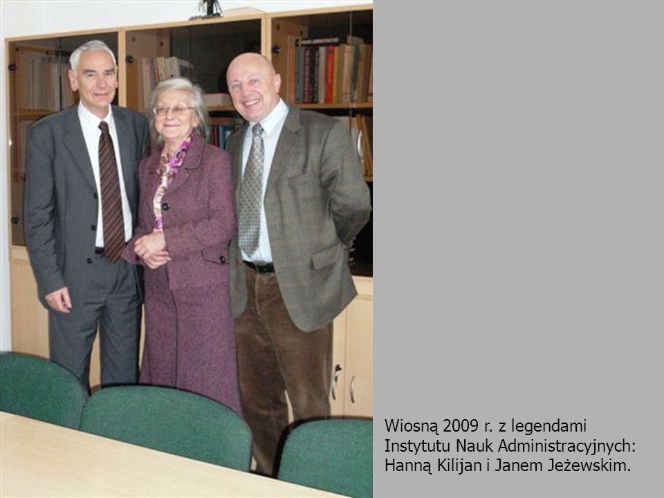 Od lewej: Konrad Nowacki (Uniwersytet Wrocławski), Dorota Dąbek (Uniwersytet Jagielloński) i Janusz Sługocki (Uniwersytet Szczeciński).