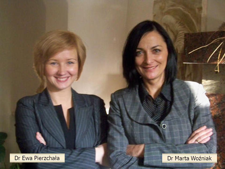 Dr Ewa Pierzchała Dr Marta Woźniak