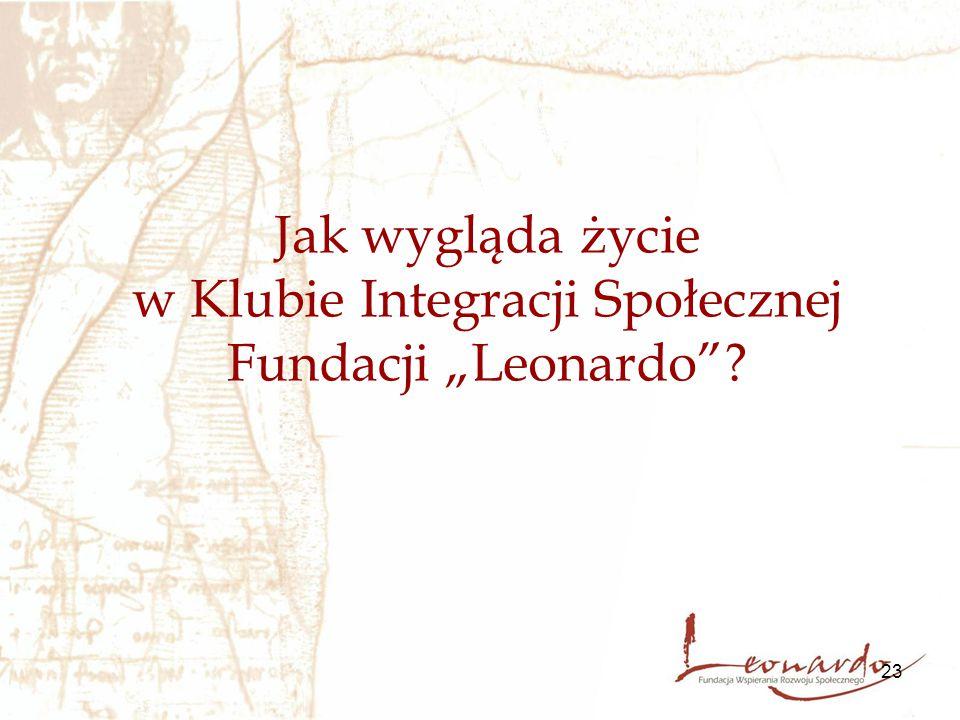 """23 Jak wygląda życie w Klubie Integracji Społecznej Fundacji """"Leonardo""""?"""
