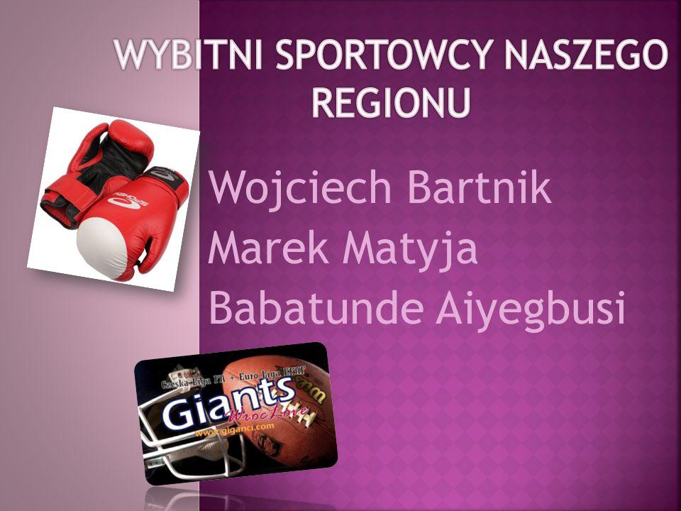 Wojciech Bartnik Marek Matyja Babatunde Aiyegbusi