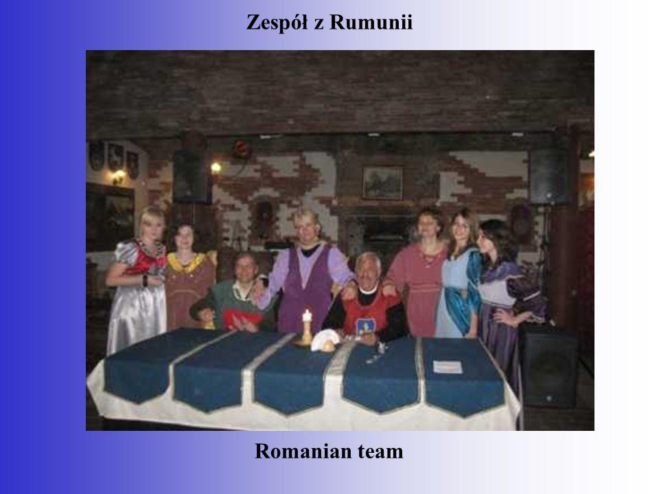 Zespół z Rumunii Romanian team