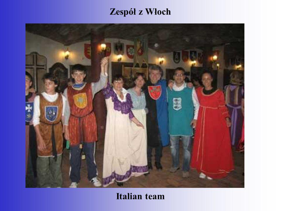Zespół z Włoch Italian team