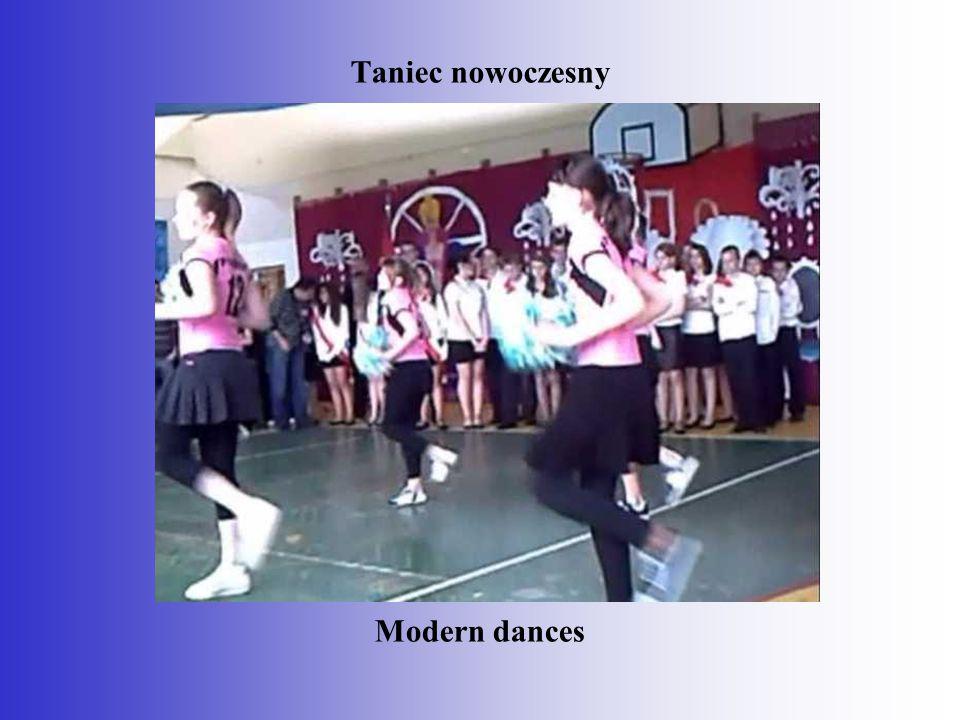 Taniec nowoczesny Modern dances
