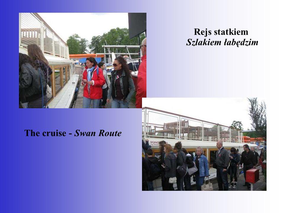 Rejs statkiem Szlakiem łabędzim The cruise - Swan Route