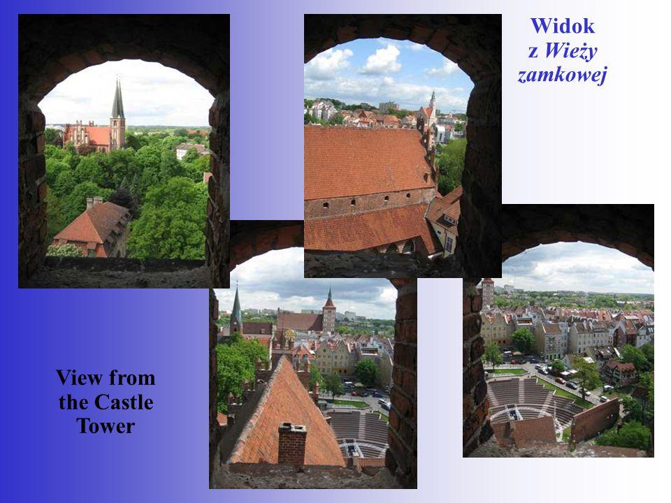 Widok z Wieży zamkowej View from the Castle Tower