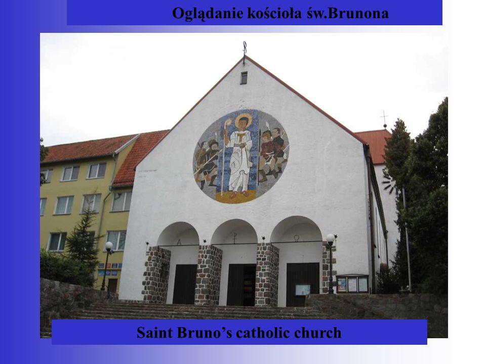 Saint Bruno's catholic church Oglądanie kościoła św.Brunona
