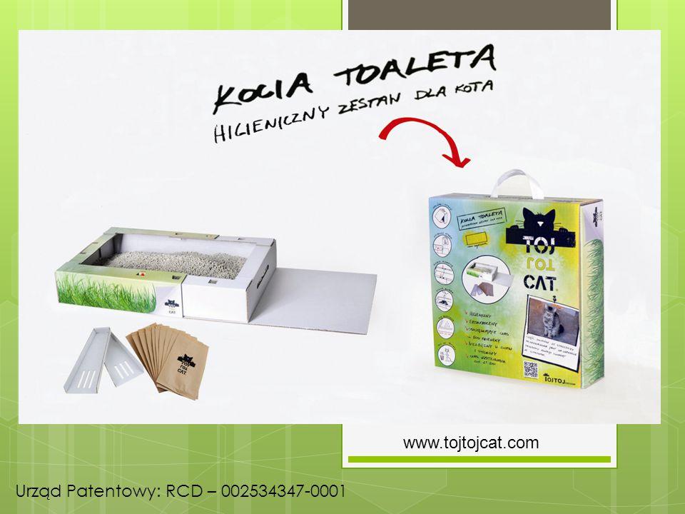 www.tojtojcat.com Urząd Patentowy: RCD – 002534347-0001