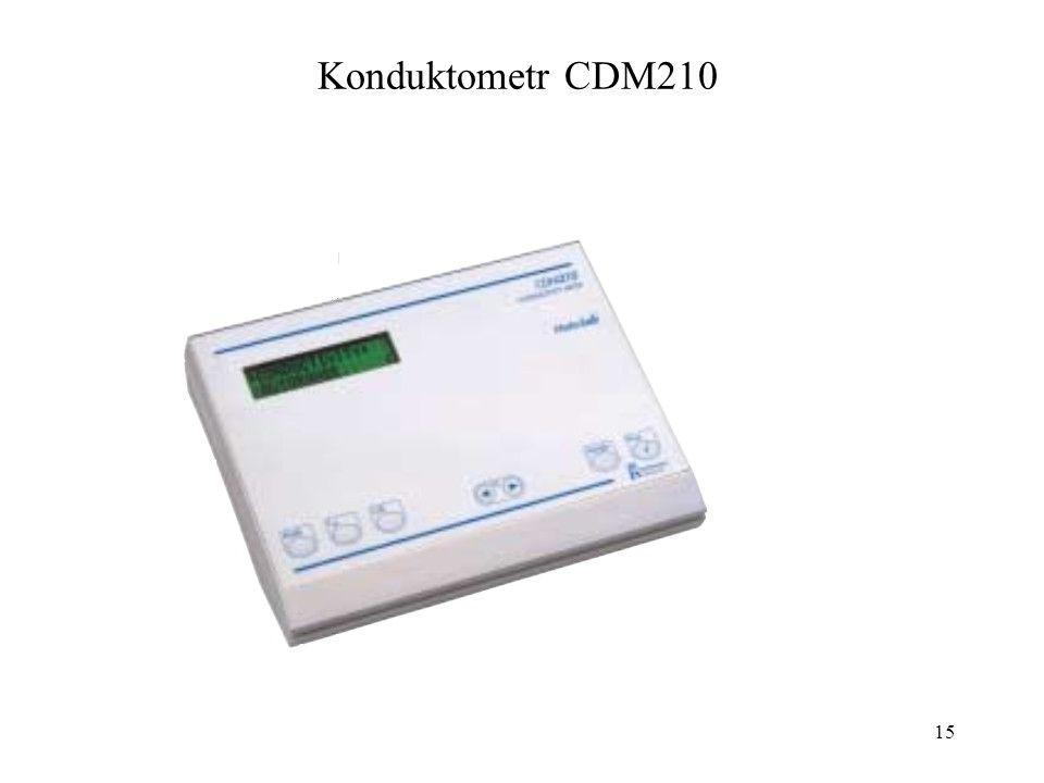 15 Konduktometr CDM210