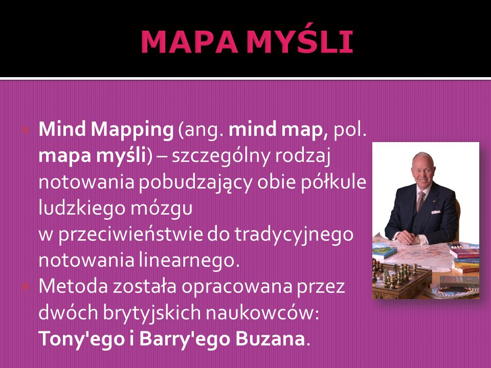  Mind Mapping (ang.mind map, pol.
