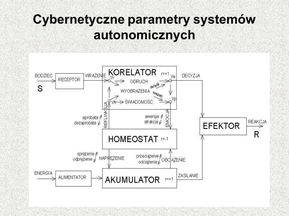 Cybernetyczne parametry systemów autonomicznych