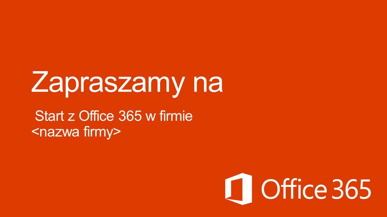 Przedstawienie usługi Office 365 Omówienie celów firmy dotyczących usługi Office 365.