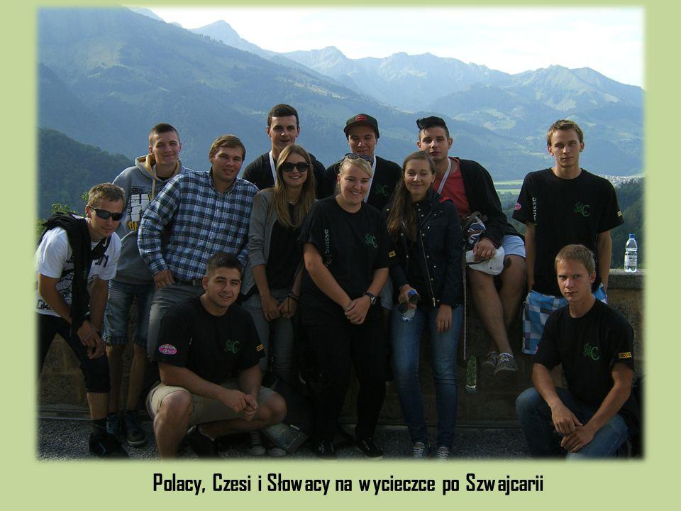 Polacy, Czesi i Słowacy na wycieczce po Szwajcarii