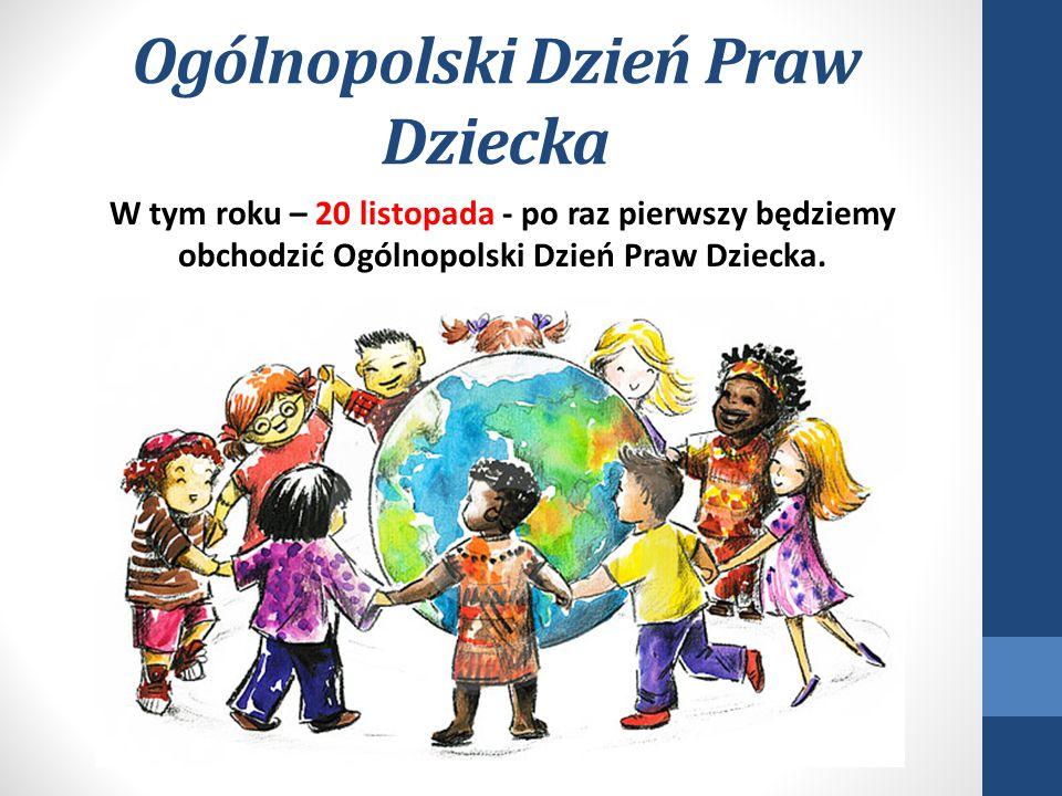 Relacja Państwo - Dziecko Prawa dziecka dotyczą relacji Państwo dziecko.