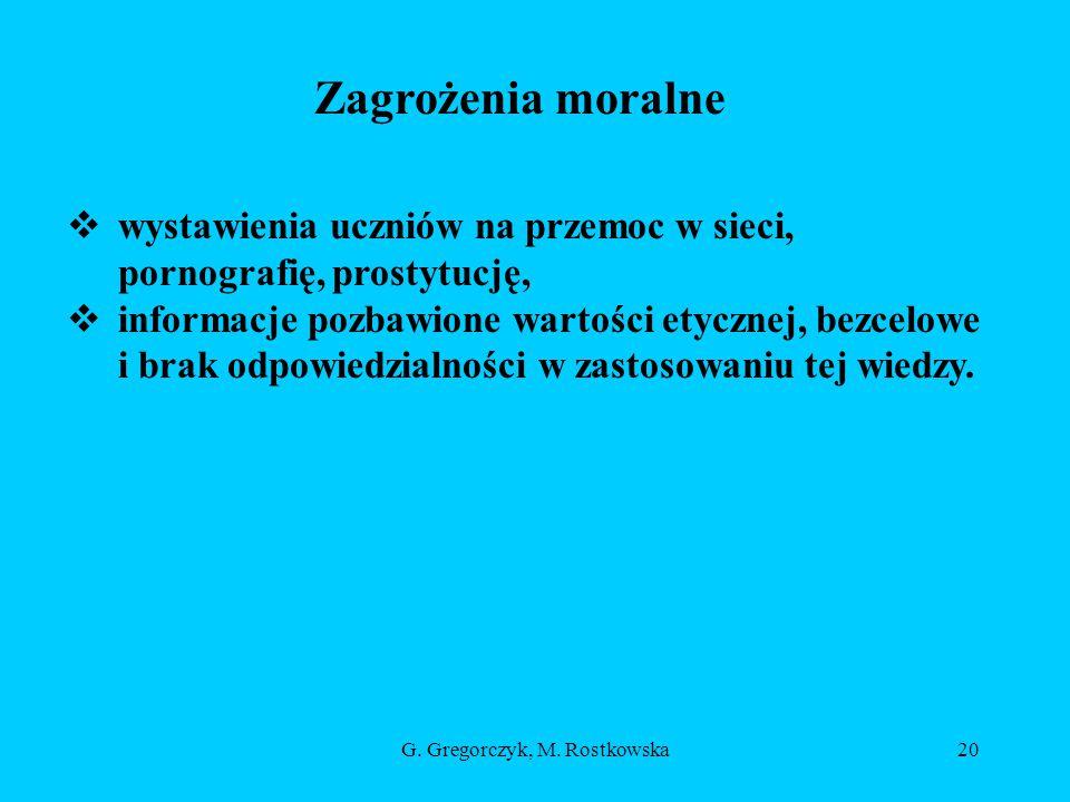 G.Gregorczyk, M.
