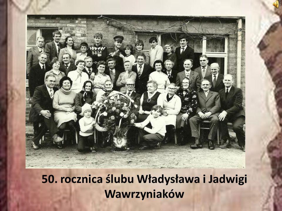 50. rocznica ślubu Władysława i Jadwigi Wawrzyniaków