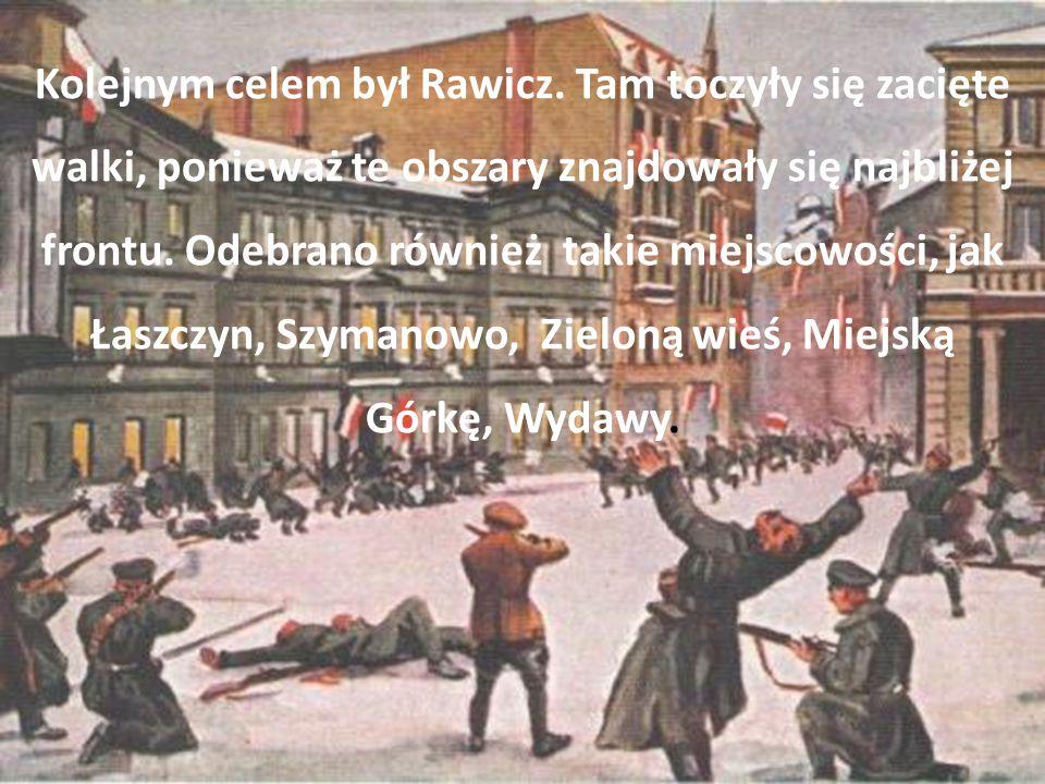 Kolejnym celem był Rawicz.