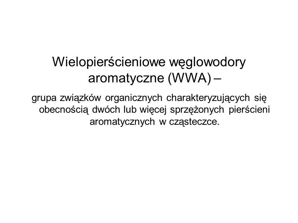 Wielopierścieniowe węglowodory aromatyczne (WWA) – grupa związków organicznych charakteryzujących się obecnością dwóch lub więcej sprzężonych pierście