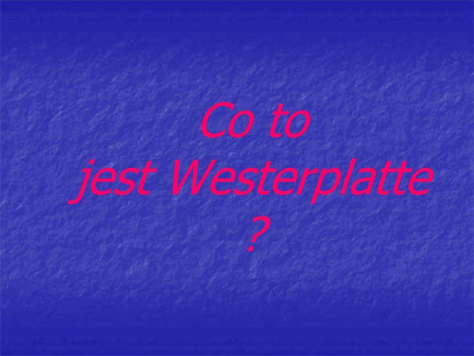 Westerplatte to nazwa półwyspu, który leży przy Gdańsku.