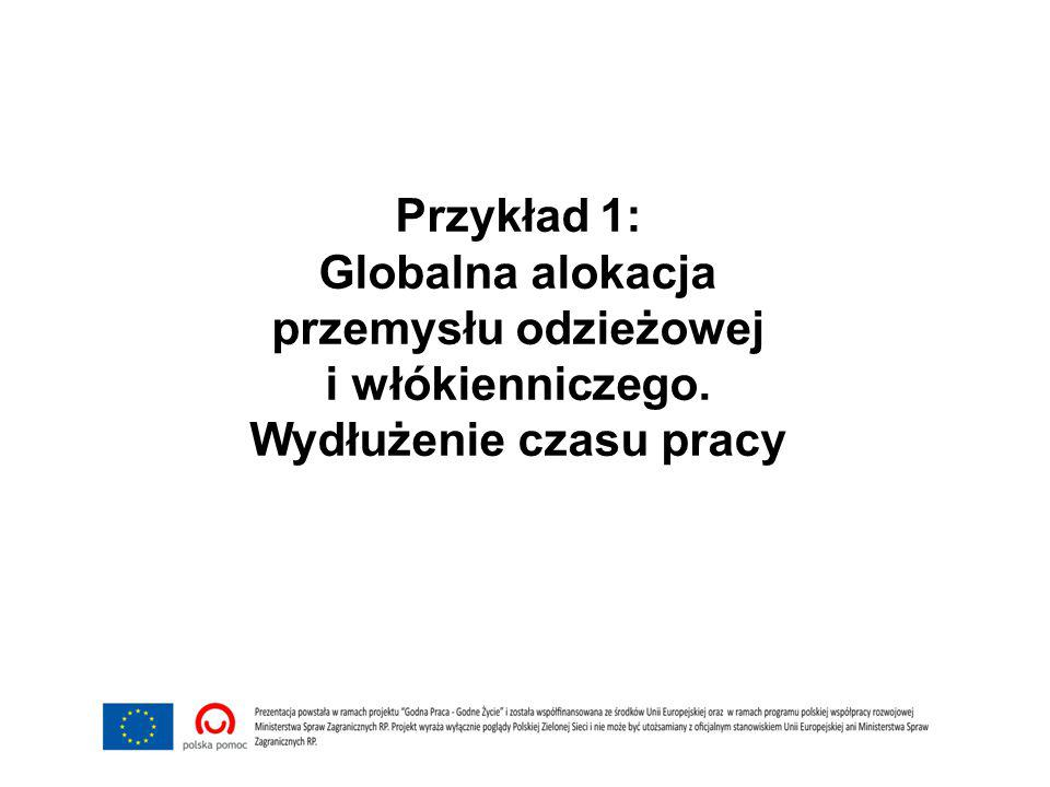 Warunki pracy w azjatyckich fabrykach odzieżowych Więcej informacji na ten temat (po polsku) znajdziesz tu: http://www.cleanclothes.pl/