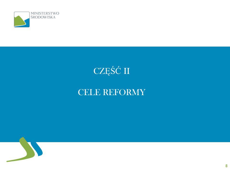 CZ ĘŚĆ II CELE REFORMY 8