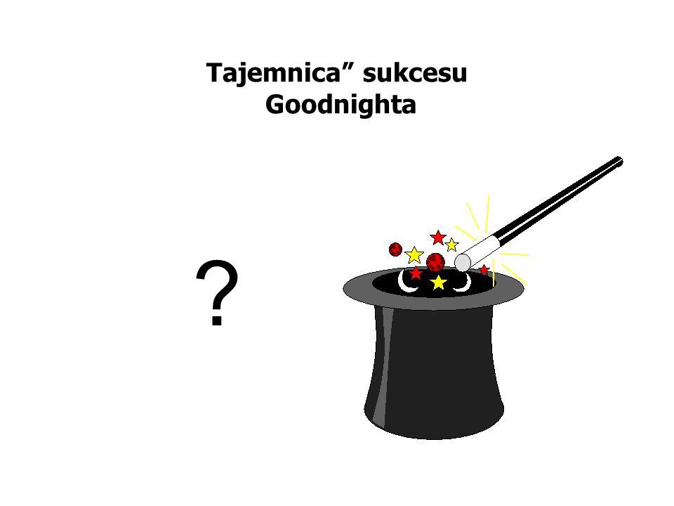 Tajemnica sukcesu Goodnighta ?