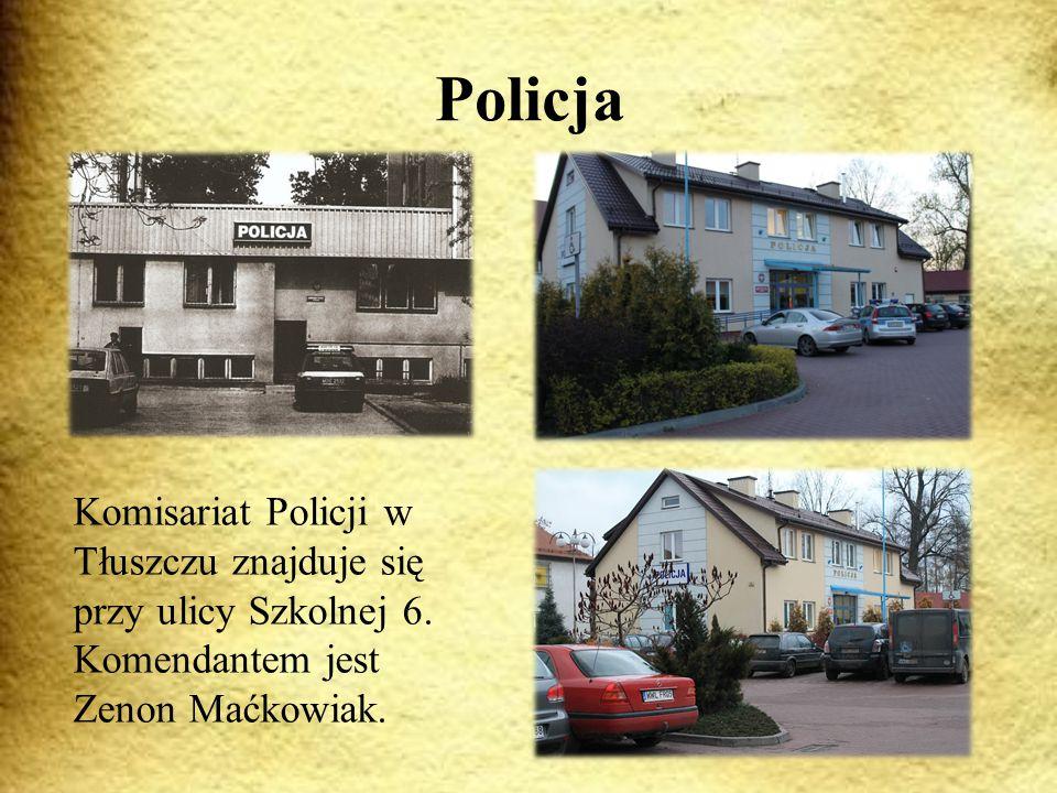 Policja Komisariat Policji w Tłuszczu znajduje się przy ulicy Szkolnej 6.