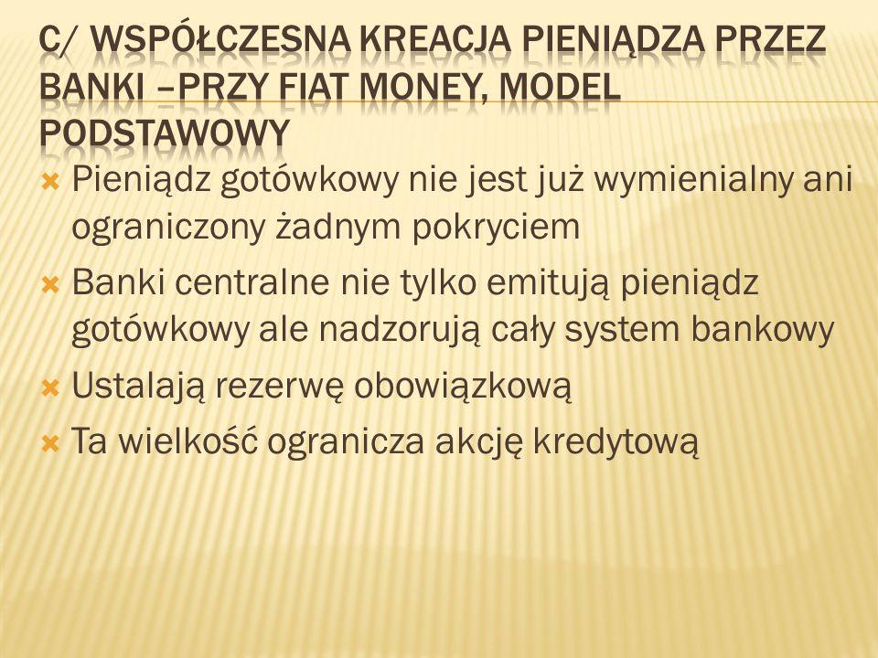  Obecnie w Polsce 8 %  Międzynarodowa umowa: Bazylea II,  Zaostrzone wymagania :Bazylea III