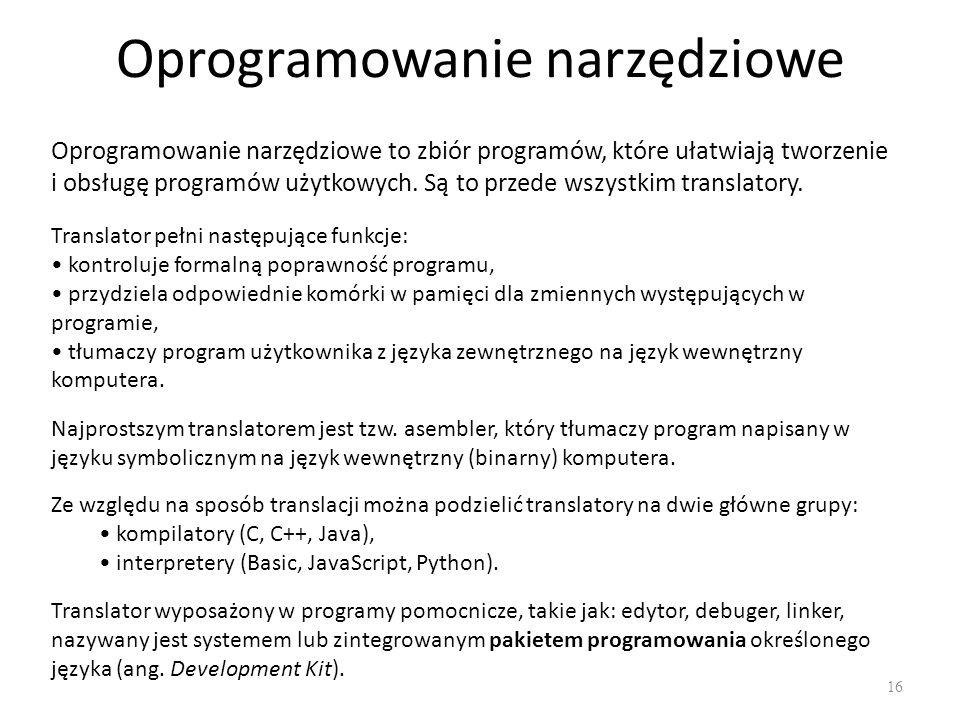 Generacje języków programowania 17
