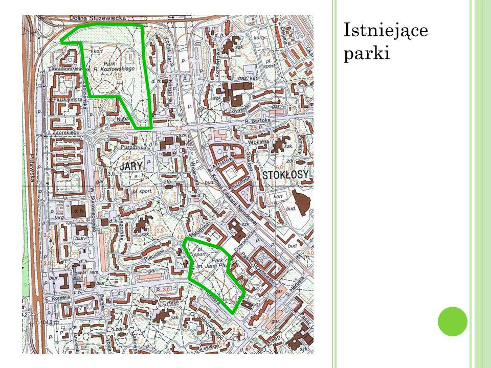 Istniejące parki