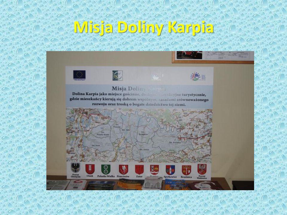 Lokalna Strategia Rozwoju obszaru Dolina Karpia Uchwała Walnego Zebrania Członków Stowarzyszenia Dolina Karpia Grudzień 2008 Aplikowanie o środki.