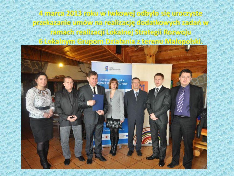Dodatkowe fundusze na realizację Lokalnej Strategii Rozwoju obszaru Dolina Karpia Stowarzyszenie Dolina Karpia na pierwszym miejscu w Małopolsce oraz czwartym miejscu w Polsce.