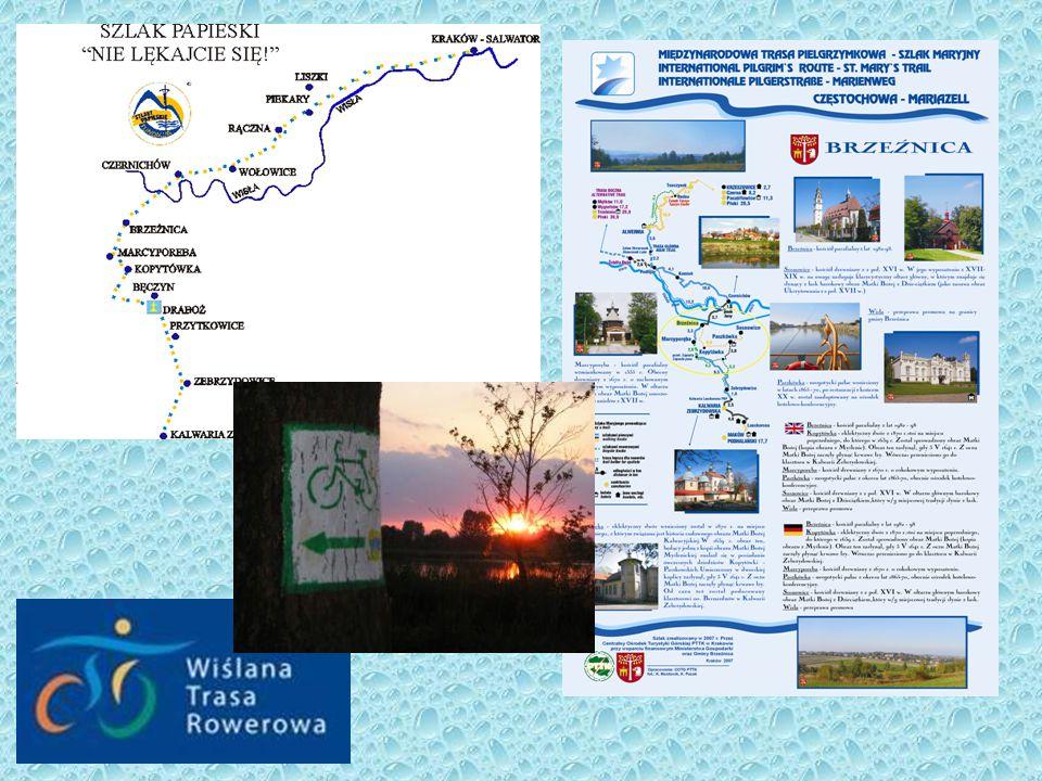 wybrane walory Doliny Karpia Szlaki turystyczne, Ścieżki edukacyjne
